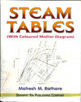 + Steam Tables (Including Mollier Diagam) + Dhanpatrai Books
